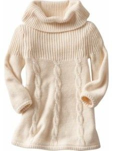 Cable-Knit Cowl-Neck Sweater Dresses for Baby | Old Navy ...