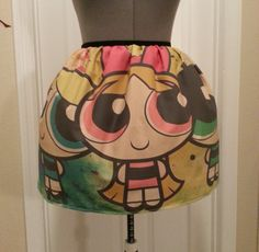 Powerpuff Girls Skirt