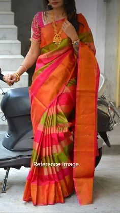 95ae808da 184 Best Uppada Silk Sarees at virajafashionista.com images in 2019 ...