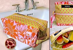 bag sewing, sew cosmetic bag, cosmetic bags patterns, sewing for travel, home accessory sewing patterns, makeup bags, bag tutorials, sewing bags, sewing tutorials