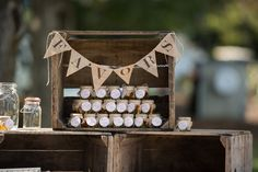 Wedding Favors from A to Z - WeddingWire.com. Mini bottles of liquor or beer bottles--grey goose?