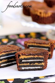 Oreo & PB Brownies