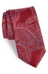 John W. Nordstrom® 'Imagine' Paisley Silk Tie (X-Long)