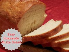 Homemade White Bread Recipe using a KitchenAid Mixer {Guest Post}