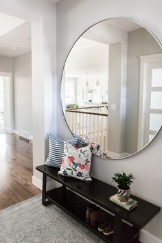 Interior Design Andrea West Design  Photo Shailynn Photo  Film Traditional Foyer Design