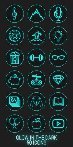 neon highlight icons story covers stories icon highlights dark app social
