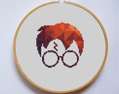 PDF Cross stitch patterns by LunatyPatterns Harry Potter Cross Stitch Pattern, Cross Stitch Patterns, Hogwarts, Hama Beads, Tapestry Kits, Cross Stitch Bookmarks, Modern Cross Stitch, Embroidery Art, Cross Stitching
