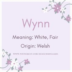 Last Name Meaning, Names With Meaning, Cute Baby Boy, Baby Girl Names, Welsh Baby Names, Baby Names And Meanings, Cute Names, When I Grow Up, Character Names