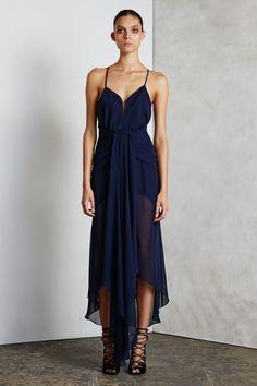 Shona Joy - - Orpheus Waterfall Cocktail Dress
