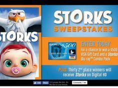Warner Bros. Storks Sweepstakes