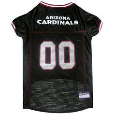 7662e6d43 Arizona Cardinals Pet Jersey NFL clothes for Dog   Cat Sizes XS-XXL