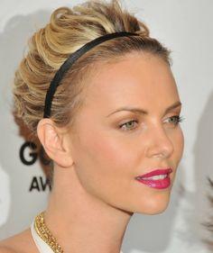 Haarbänder und -reifen - Der elegante Look von Charlize Theron