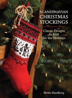 Scandinavian Christmas Stockings - Perfect Gift for the Scandic Crafter!