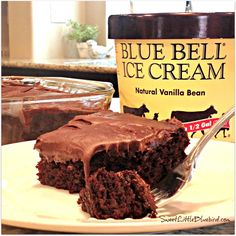 Sweet Little Bluebird: Chocolate Mint Crazy Cake - No eggs, Milk or Butter