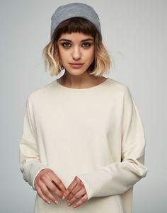 Sweat passepoilé - Sweat - Vêtements - Femme - PULL&BEAR France