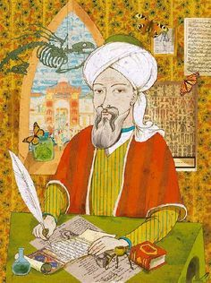 Avicenna (Ibn Sina) (c.980—1037), was a Persian polymath who is regarded as one of the most significant thinkers and writers of the Islamic Golden Age. Of the 450 works he is known to have written, around 240 have survived, including 150 on philosophy and 40 on medicine.  -- Located in the Museum of Me