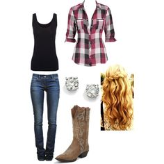 Country outfit/ square dance outfit