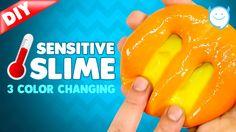 DIY Heat Sensitive Putty Changes Color!! COLOR CHANGING SLIME