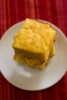 Corn Bread - very successful on the first try!  I added some shredded cheese.