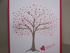 Valentine Fantasy Tree by CraftyMel2 - Cards and Paper Crafts at Splitcoaststampers