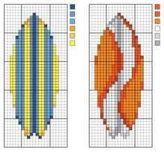 Surfboard Patterns - Sets 1 and 2
