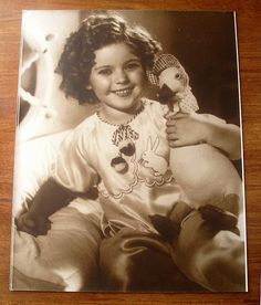 Shirley Temple large photograph - for sale on Ruby Lane