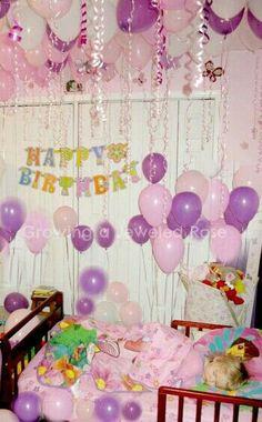Fill your child's room with balloons while they sleep, just be sure to cut strings short to where they can't reach. Best to do about a hour before they wake up. G;)
