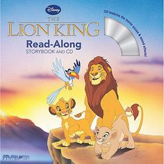 Lion King Read-Along Storybook and CD $6.95