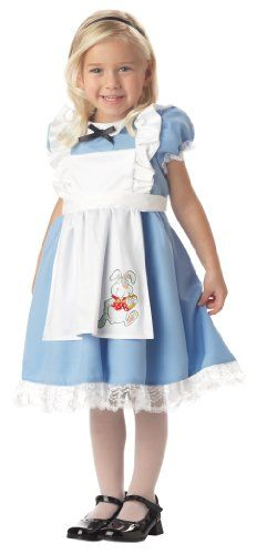 Lil' Alice in Wonderland Child Costume (Ages 4-6) Best Reviews