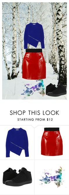 """""""The strategy of the snail"""" by junglequeen84 ❤ liked on Polyvore featuring Alexander Wang, Dolce&Gabbana, Converse and Disney"""