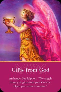 Orakelkaart: Geschenken van God