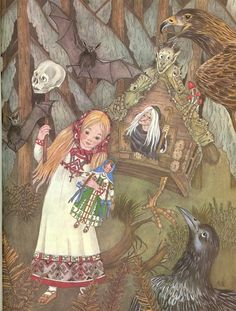 Vassilissa and Baba Yaga, by Adrienne Segur