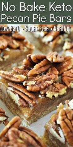 Low Carb Sweets, Low Carb Desserts, Low Carb Recipes, Small Desserts, Ketogenic Recipes, No Bake Desserts, Diet Recipes, Keto Dessert Easy, Dessert Bars
