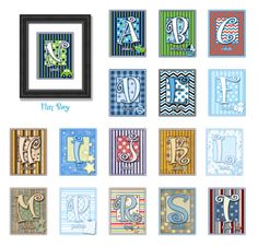 Personalized Childrens Names 8X10 Fun Boys by WITNESSartandgifts, $15.00