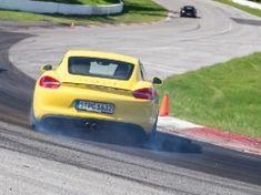 Porsche World 2013 - drift
