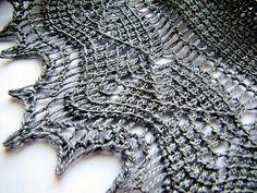 'Pax' tunisian shawl, pattern by Aoibhe Ni - free on Ravelry