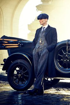 """Tommy Shelby played by Cillian Murphy in """"Peaky Blinders"""""""