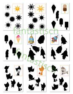 Játssz az iskolába: Keresse meg a shadow. Fejlődő didaktikai játék gyerekeknek Homeschool Worksheets, Worksheets For Kids, Homeschooling, Visual Perception Activities, Dots Game, Dyscalculia, Light And Shadow, Preschool Activities, Kids And Parenting