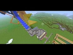 How to make an Awesome Rube Goldberg machine in Minecraft - Episode 1, The Machine so far. - YouTube