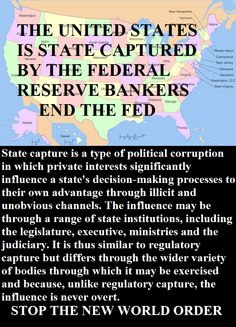 THE UNITED STATES IS STATE CAPTURED BY THE FEDERAL RESERVE BANKERS INFOWARS.COM BECAUSE THERE'S A WAR ON FOR YOUR MIND