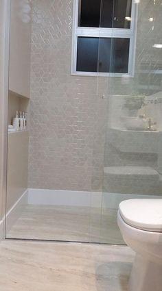 Bathroom Layout, Bathroom Interior, Small Bathroom, Glass Shower, Interior Exterior, Bathroom Inspiration, Decoration, Sweet Home, House