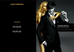 Paco Rabanne, Million Universe. 1 MILLION INTENSE a man with sophisticated charisma, a black and. Award Winning Websites, Web Design Awards, Web Internet, Best Web Design, Best Black, Paco Rabanne, Web Design Inspiration, Cool Websites, Lady
