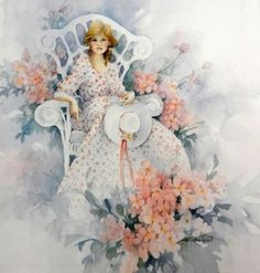 Carolyn Shores Wright. Beautiful watercolor. Discussion on LiveInternet - Russian Service Online diary