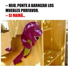 Imagenes graciosas on pinterest chistes fun jokes and for Barnizar muebles