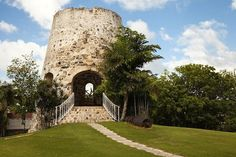Old sugar mill at this historic resort.  5007 Estate Shoys, Christiansted, St. Croix