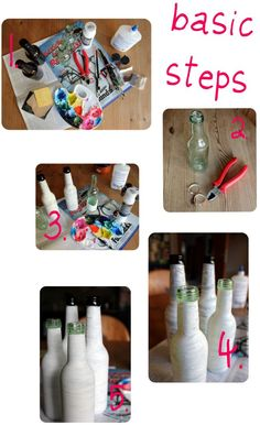 Love To Go | Living a simple & creative life: DIY: Pimp your old bottles!