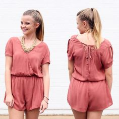 Good morning Tax free weekend is always a good excuse to go shopping right?! Come shop our new arrivals like this super cute new romper #lotusboutique