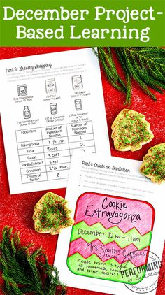 My students loved planning their holiday party and cookie exchange! Check out this post for more info on December project-based learning for 3rd, 4th, and 5th graders!