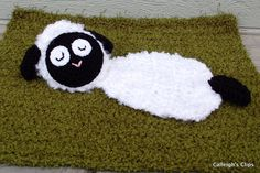 Digital Crochet Pattern- No 45 Fleecy The Lamb- Cuddle Cape Set  -Photography Prop (not a finished product). $5.95, via Etsy.
