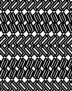 BW Geometric Pattern by Georgiana Paraschiv, via Flickr